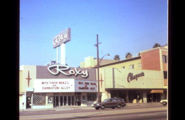 The Roxy Theater, Brand Blvd., Glendale, California, 1960's