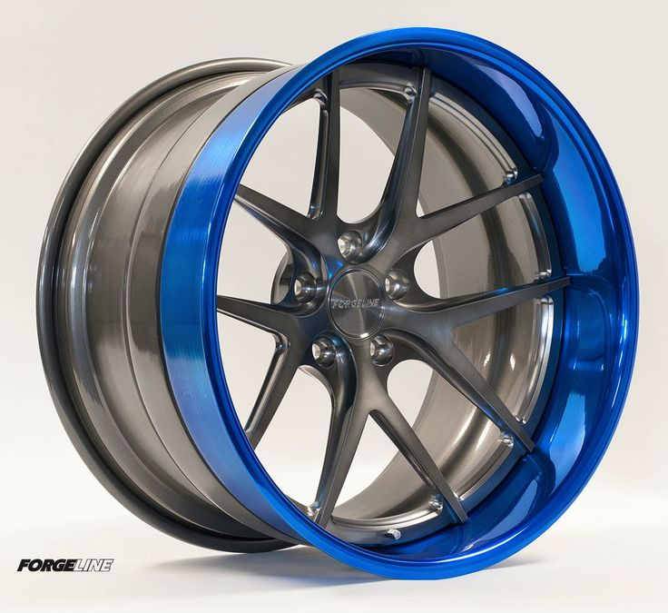 Wow! This Forgeline VX3C Concave, built for our Partners at Roadster Shop, is finished in Transparent Smoke with a Transparent Blue powder coat outer. Learn more about the VX3C at: http://www.forgeline.com/products/concave-series/vx3c-concave.html