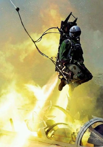 Martin-Baker Ejection Seat Testing