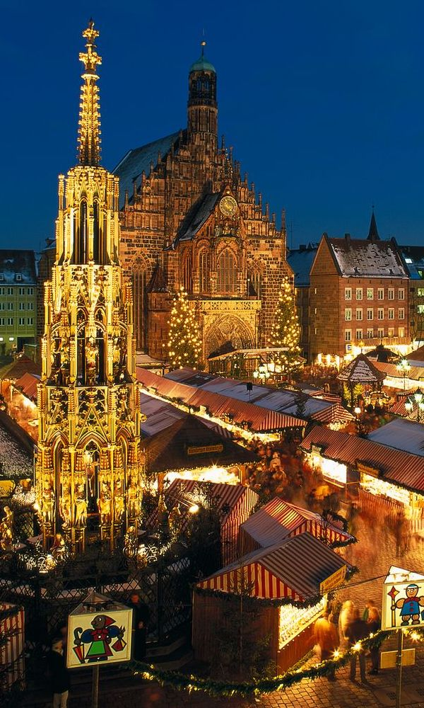 My favorite Christmas was spent in Germany.