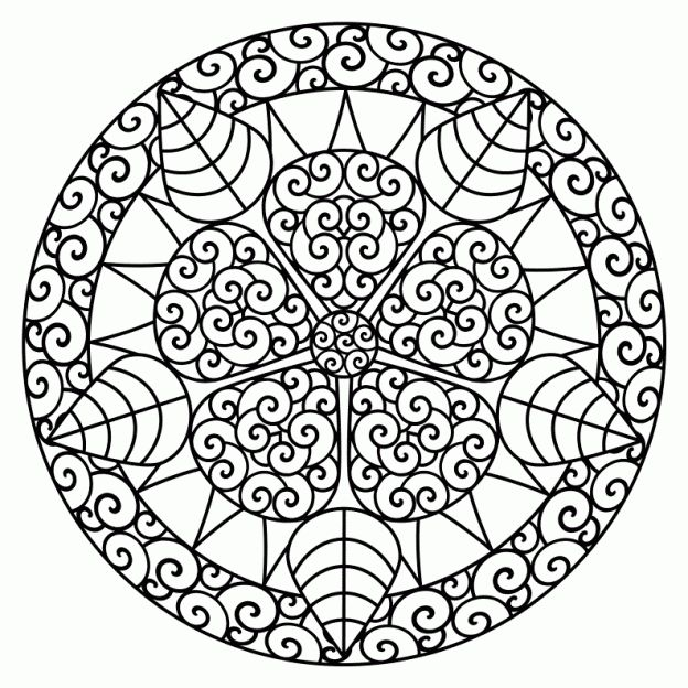 free abstract coloring pages to color on the first day while taking attendance etc - Things To Color For Kids