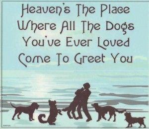 Heaven. I sure hope so.