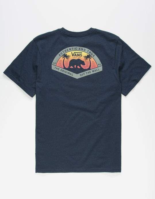 8028eba10086 VANS Grizzly Beach Boys T-Shirt