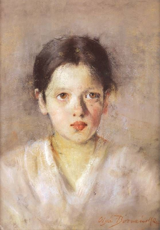 Olga Boznańska - Zamyślona (1897)