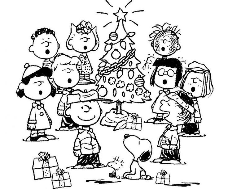 14++ Charlie brown christmas coloring pages ideas in 2021
