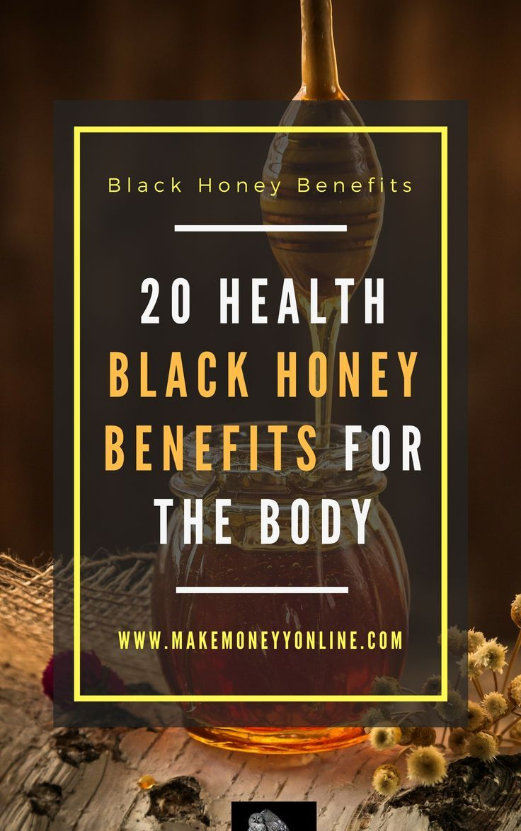 20 health black honey benefits for the body | honey benefits