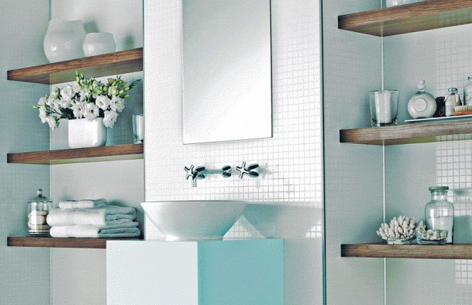 17 Best Ideas About Bathroom Mirror With Shelf On Pinterest: 17 Best Ideas About Glass Shelves For Bathroom On