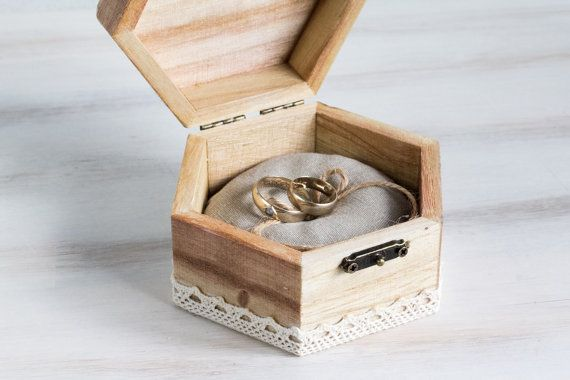 Wedding Ring Bearer Box / Pillow Hexahagram by MyHouseOfDreams