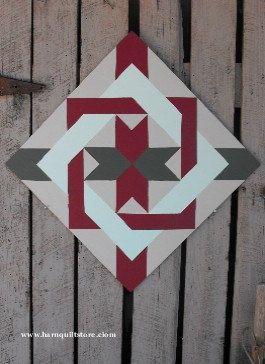 Barn Quilt, Nancy's Fan Pattern. $65.00, via Etsy.  To put on the barn when we get it.