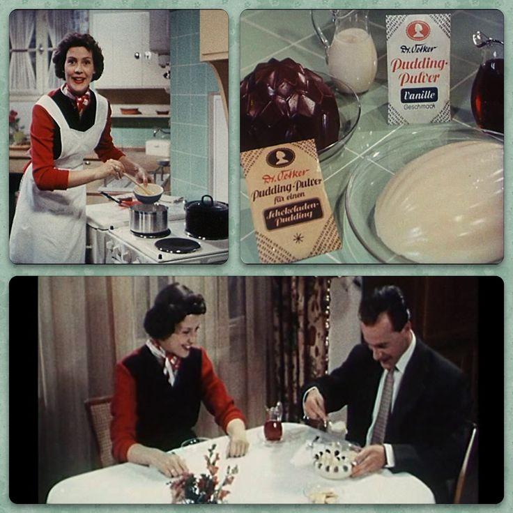 """""""Eine Frau hat zwei Lebensfragen: Was soll ich anziehen und was soll ich kochen?"""" Da war die Welt noch in Ordnung - nicht wahr, liebe Väter? Und da Männer, die gern Süßes essen, einen guten Charakter haben, gibt es hier zur Feier des (Vater-)Tages den Kult-Werbefilm mit Frau Renate aus dem Jahr 1954 erstmalig in voller Länge."""