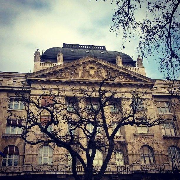 Budapest architecture is amazing