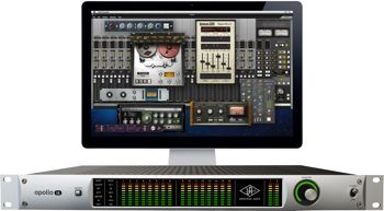 16 x 16 Thunderbolt/FireWire 800 Audio Interface with Built-in UAD-2 QUAD DSP for UAD Powered Plug-ins and Included Realtime Analog Classics Plus Bundle - Mac/PC