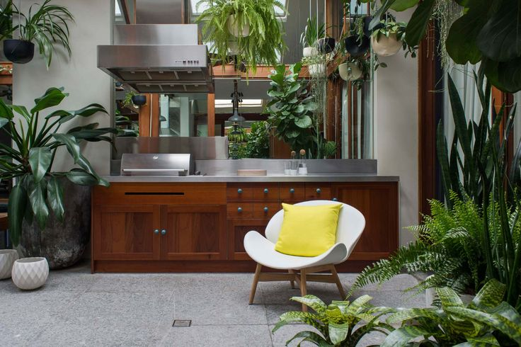 Clovelly apartment courtyard.