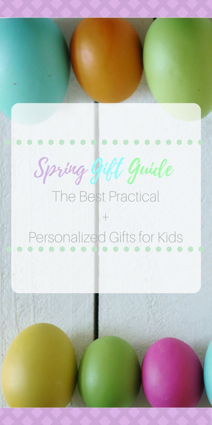 18 best kids birthday gifts loots images on pinterest personalized and practical gifts for kids spring guide negle Choice Image