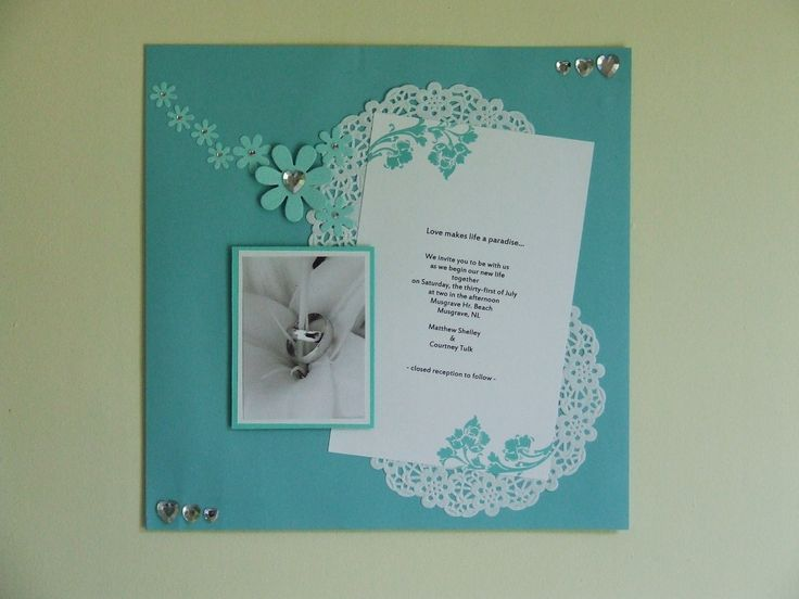 The 122 best Wedding scrapbook images on Pinterest | Scrapbooking ...