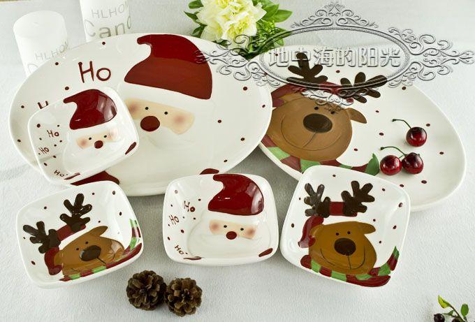 een hand schilderen keramiek servies kerst serie in product optielijstnote: de volgende informatie is alleen ter referentie. neem dan contact op met de verkoper om de gedet van servies sets op AliExpress.com   Alibaba Groep