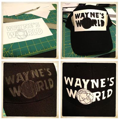JENNBLECH: wayne's world costumes in progress...