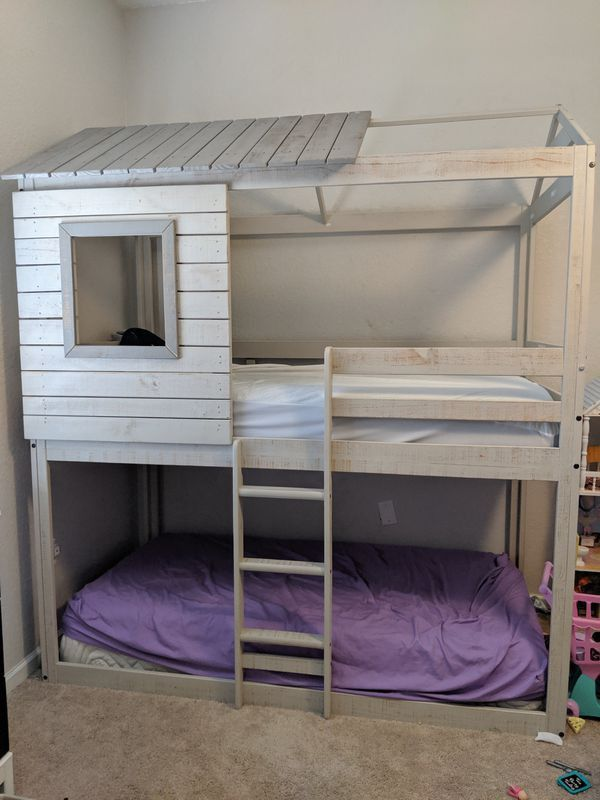 Forrester Twin Full Bunk Bed 2021 Bunk Beds Bunk Beds For Sale Full Bunk Beds