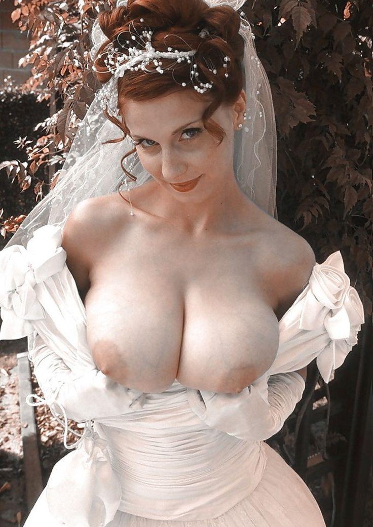 фото невест с большой грудью частное