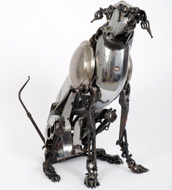 Dog by James Corbett - steampunk machine, steampunk robot, dog - Steampunk pictures