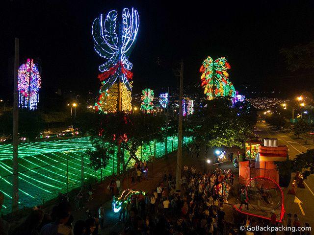 Los Alumbrados: Medellin's Annual Christmas Light Display (2012)