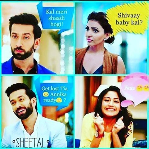 I laughed hard on this , it's so damn cute #ishqbaaazquotes #ishqbaaaz