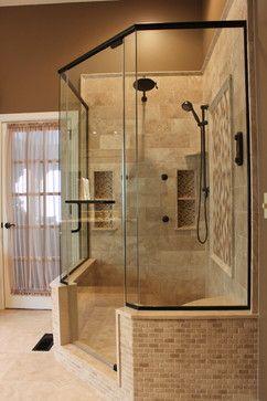 North Royalton Master Bath - mediterranean - bathroom - cleveland - Dream Builders