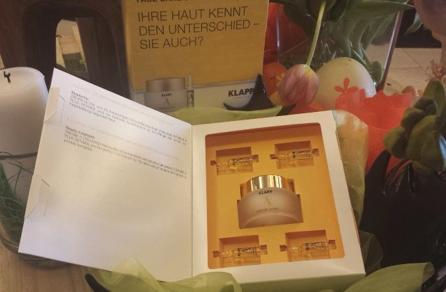 face-care-set by #KLAPP cosmetics - ultra creme and vitamin A booster ampules - great for your skin ;)