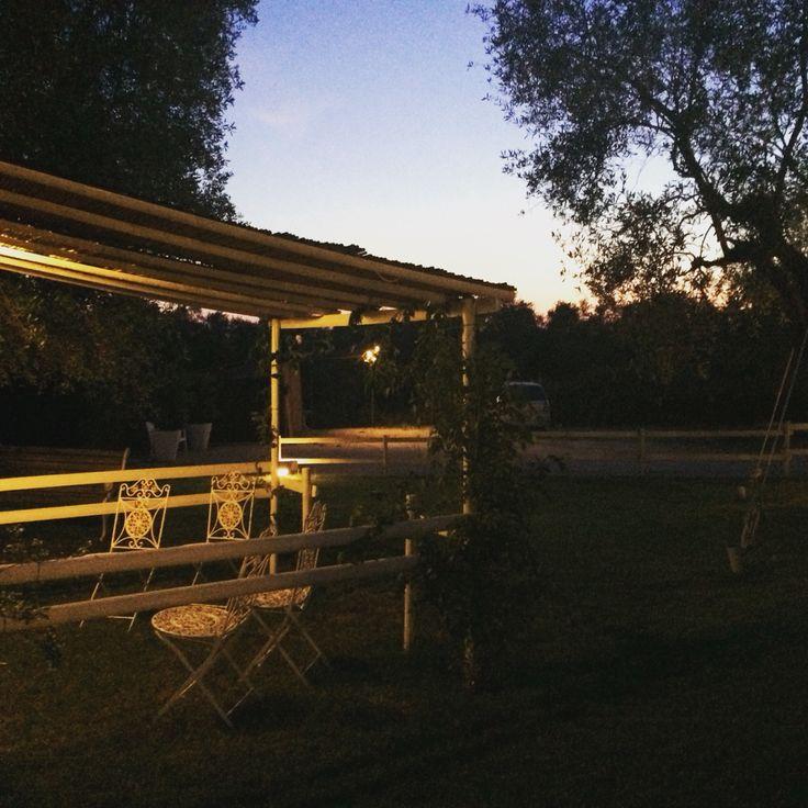 Agriturismo le Tre Fonti giardino