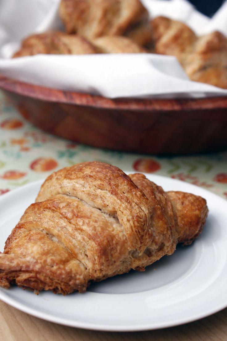 Whole wheat croissants | Recipe | Croissant