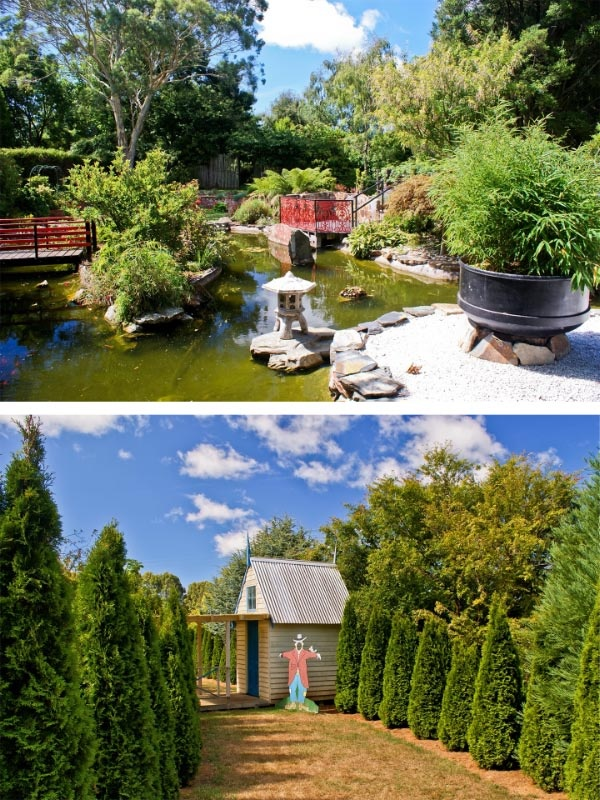 Annsleigh Gardens & Cafe, Ridgley (south of Burnie). Article and photo by Carol Haberle for Think Tasmania.