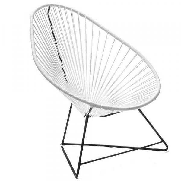 ACAPULCO Chair in Black & White