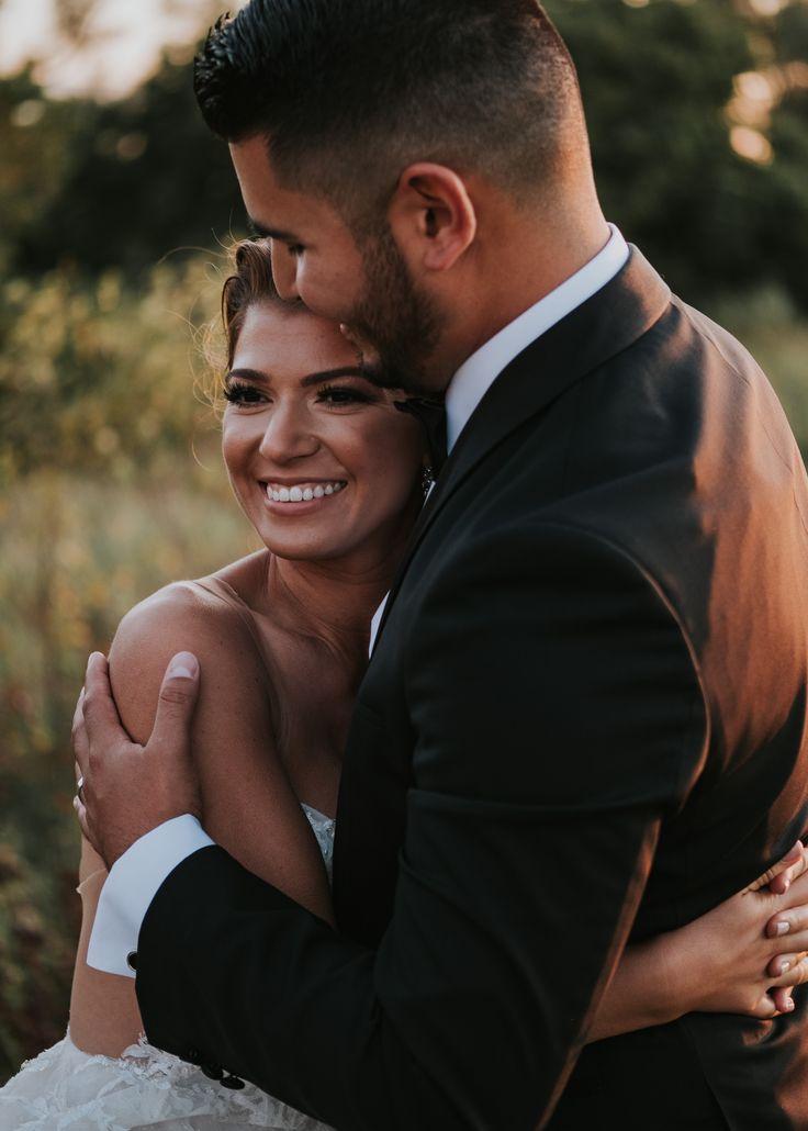 beautiful couple at sunset wedding; PHOTOGRAPHY Joel + Justyna Bedford, destination wedding photographers