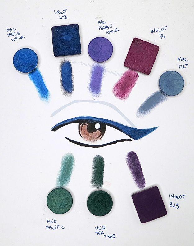 occhi marroni chiari, quali colori?