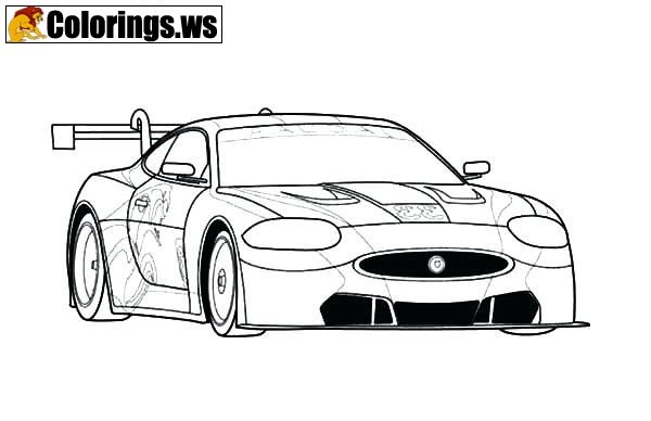 Jaguar Car Coloring Pages Car Coloring Pages The Beginnings Of