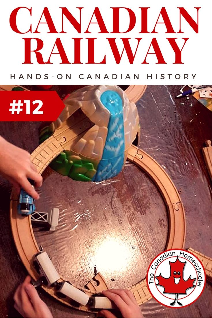 Hands-On Canadian History: The Canadian Railroad