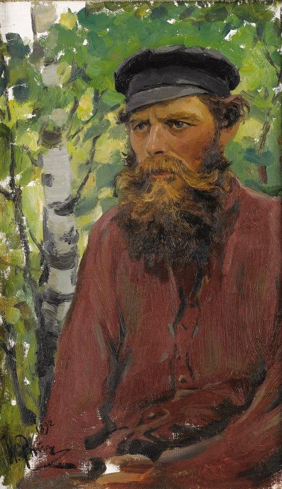 Painting by Ilya Repin