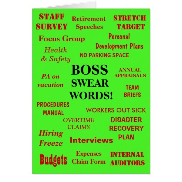 Funniest Annoying Boss Birthday Joke Add A Caption Card Cards