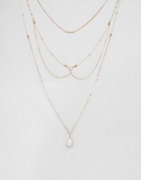 ALDO – Edghill – Mehrreihige Halskette