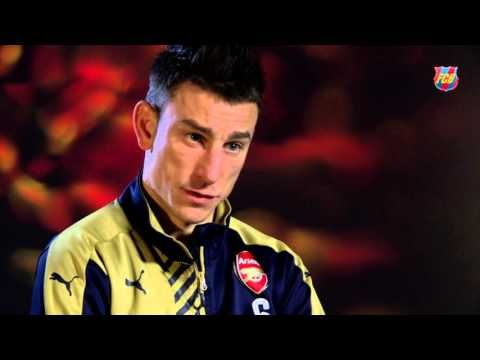 Laurent Koscielny: Arsenal have nothing to lose against Barcelona (Video)