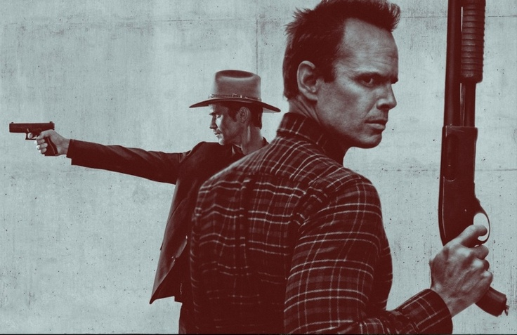 Justified .... Raylan and Boyd
