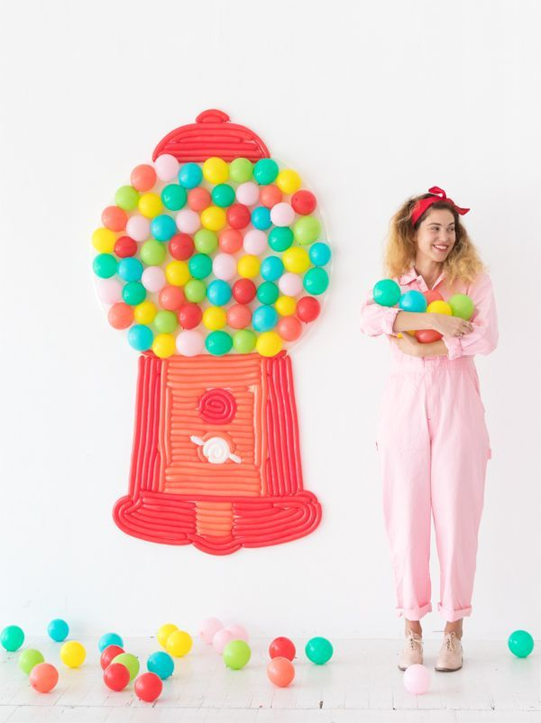 507 best balloons images on pinterest globes party time for Balloon decoration machine