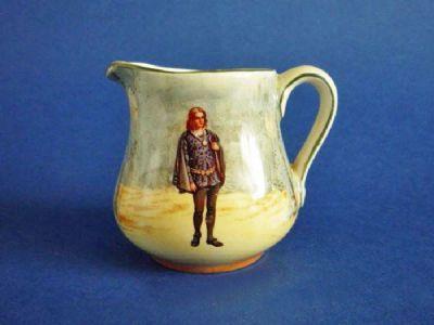 Royal Doulton Shakespearean Characters 'Hamlet' Miniature Jug c1915