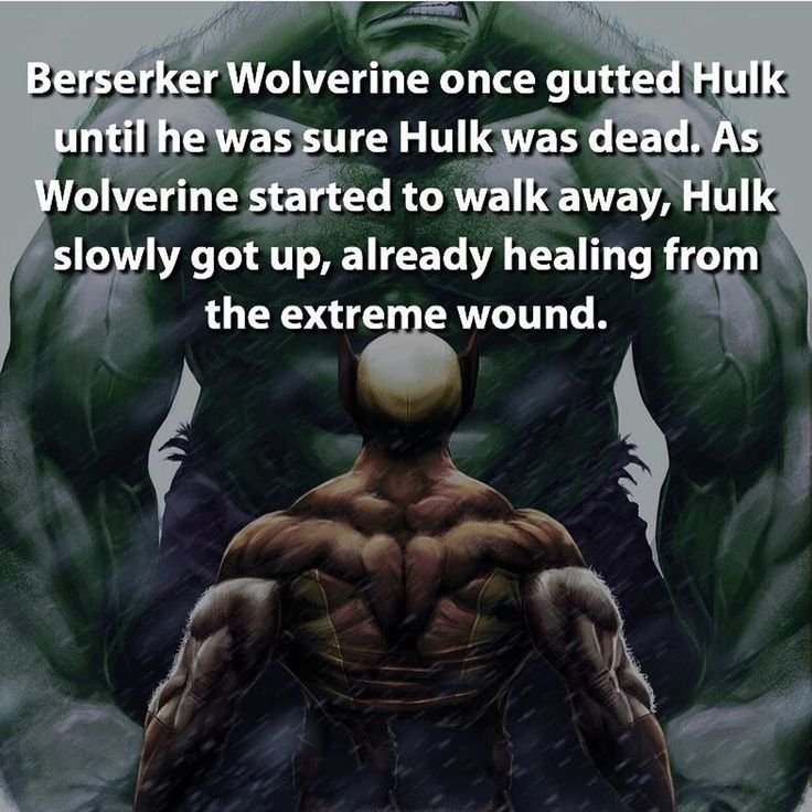 Don't underestimate the Hulk and never turn your back on him