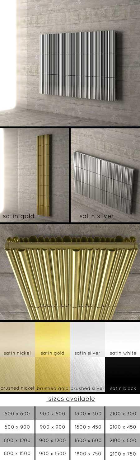 Kane Designer Aluminium Radiator (104JJ) For living room