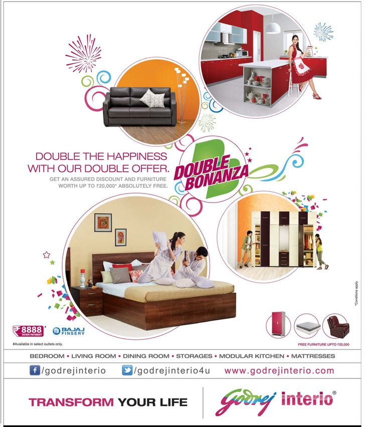 Get An Assured Discount Furniture Worth Absolutely FREE On Purchase Of Sofas Wardrobes And More At Godrej Interio In Hyderabad
