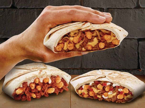 Taco Bell Canada has unveiled the Cheetos Crunchwrap Slider