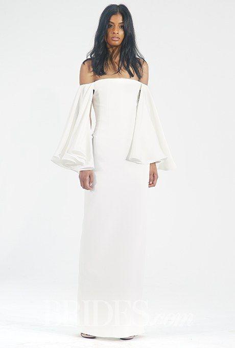 Houghton Wedding Dresses - Fall 2015 - Bridal Runway Shows - Brides.com   Brides