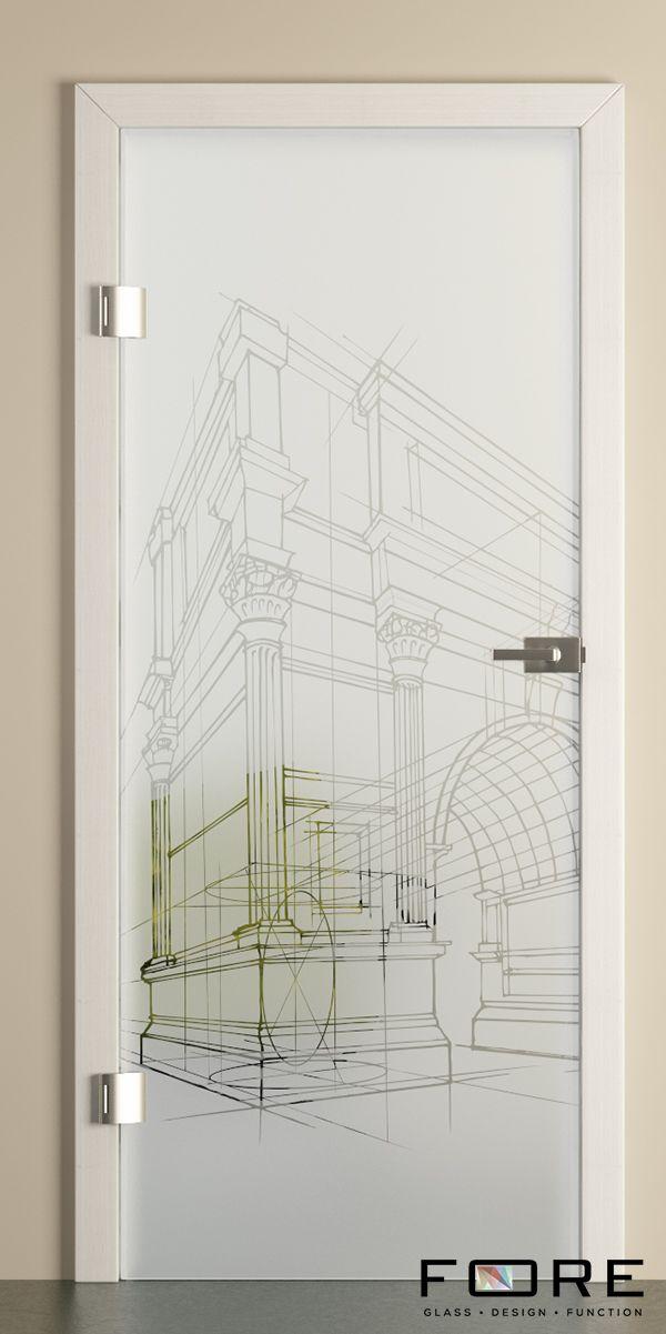 Drzwi szklane Rome, glass doors, www.fore-glass.com, #drzwi #drzwiszklane #drzwiwewnetrzne #szklane #glassdoor #glassdoors #interiordoor #glass #fore #foreglass #wnetrza #architektura