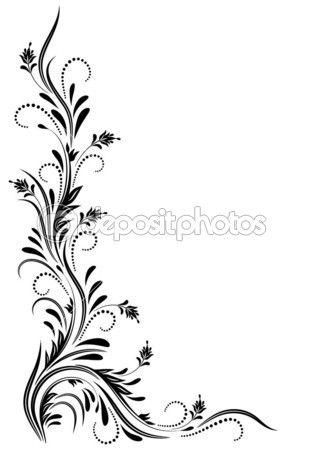 Ornamento de la esquina — Ilustración de stock #8488496